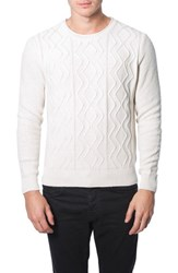 Men's 7 Diamonds 'Nomad' Sweater Ecru
