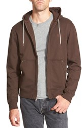 Timberland Timerbland 'Exeter' Zip Front Hoodie Coffee Bean