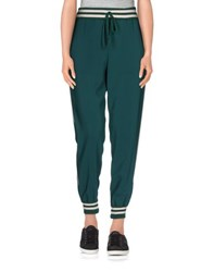 .Tessa Trousers Casual Trousers Women Emerald Green