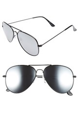 Women's Bp. Mirrored Aviator 57Mm Sunglasses