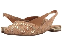 Jack Rogers Rory Cork Women's Flat Shoes Brown