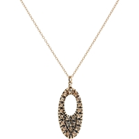 Fabrizio Riva Cutout Pendant Necklace