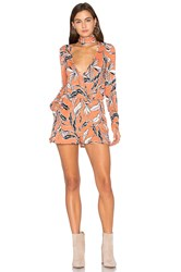 Yumi Kim Work It Romper Peach