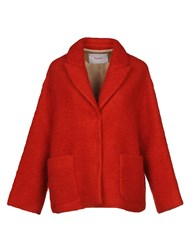 Jucca Coats Red
