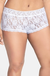 Hanky Panky Boyshorts Plus Size White