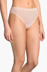 Ongossamer Women's On Gossamer High Cut Brief Champagne