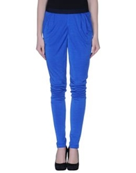 Pianurastudio Casual Pants Bright Blue