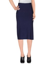 Devotion Skirts 3 4 Length Skirts Women Dark Blue