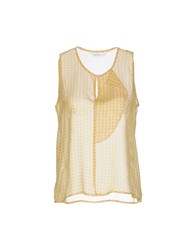 Anonyme Designers Topwear Tops Women Yellow