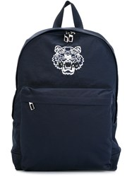 Kenzo 'Tiger' Backpack Blue