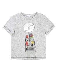 Little Marc Jacobs Mister Essential Short Sleeve Tee Gray