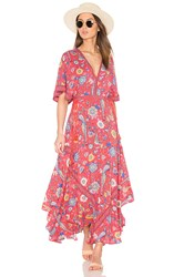 Spell And The Gypsy Collective Half Moon Gown Red