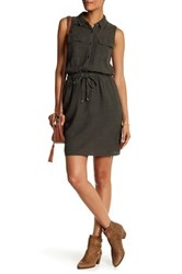 Splendid Tank Shirtdress Green
