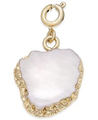 Inc International Concepts Gold Tone White Stone Charm Only At Macy's