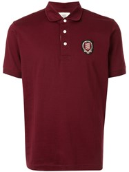 Kent And Curwen Logo Embroidered Polo Shirt