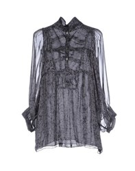 Roberta Scarpa Shirts Blouses Women Steel Grey