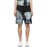 11 By Boris Bidjan Saberi Black Mirage Shorts