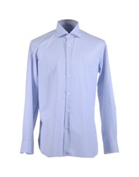 Caruso Shirts Long Sleeve Shirts Men