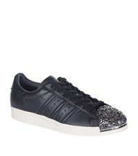 Adidas Originals Superstar 80S Metal Toe Cap Sneakers Female Black