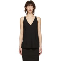 Rick Owens Black Kinga Tank Top