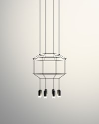 Vibia Wireflow 3D Octagonal Pendant