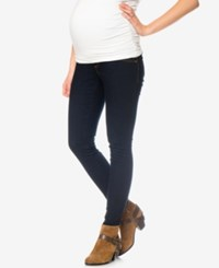 Motherhood Maternity Dark Wash Skinny Jeans Modern Rinse