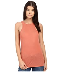 Obey Brando Tank Top Salmon Women's Sleeveless Orange