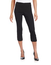 Lord And Taylor Stretch Capri Pants Black