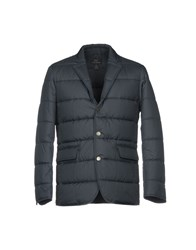 Brooks Brothers Synthetic Down Jackets Dark Blue