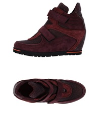 Pas De Rouge High Tops And Trainers Deep Purple