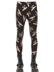 Boy London Logo Cotton Leggings