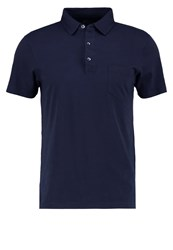 J.Crew Slim Fit Polo Shirt Navy Dark Blue