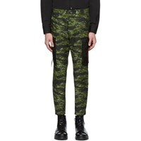 Dsquared2 Green Camo Cargo Pants