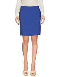 Fabrizio Lenzi Knee Length Skirts Blue