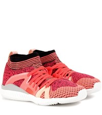 Adidas By Stella Mccartney Crazymove Bounce Fabric Sneakers Pink