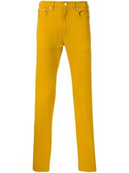 Paul Smith Ps Chino Trousers Yellow