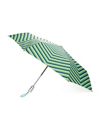Totes Printed Automatic Umbrella Nordic Stripe