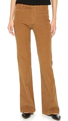 Madewell Flea Market Corduroy Flare Pants Timber Brown