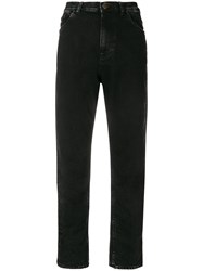 Mauro Grifoni Cropped Jeans Black