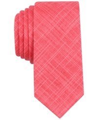 Bar Iii Men's Bordallo Solid Slim Tie Only At Macy's Red