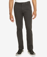 Kenneth Cole Reaction Men's Brooklyn Slim Fit Pants Flannel He