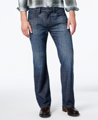 Inc International Concepts Men's Relaxed Fit Dark Wash Jeans Only At Macy's
