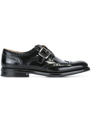 Church's Single Strap Monk Brogues Black