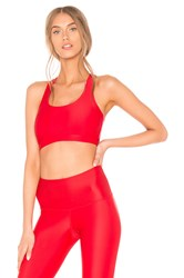 Strut This Kinzie Sports Bra Red