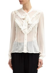 Ghost Danice Blouse Ivory
