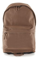 Topman Men's Faux Suede Backpack