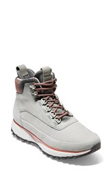 Cole Haan Grandexplore All Terrain Waterproof Hiking Boot Ironstone Waterproof Nubuck