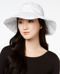Inc International Concepts Solid Floppy Hat Created For Macy's White