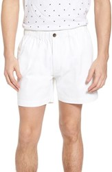 Vintage 1946 Snappers Elastic Waist Shorts White