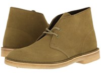Clarks Desert Boot Forest Green Suede Men's Lace Up Boots